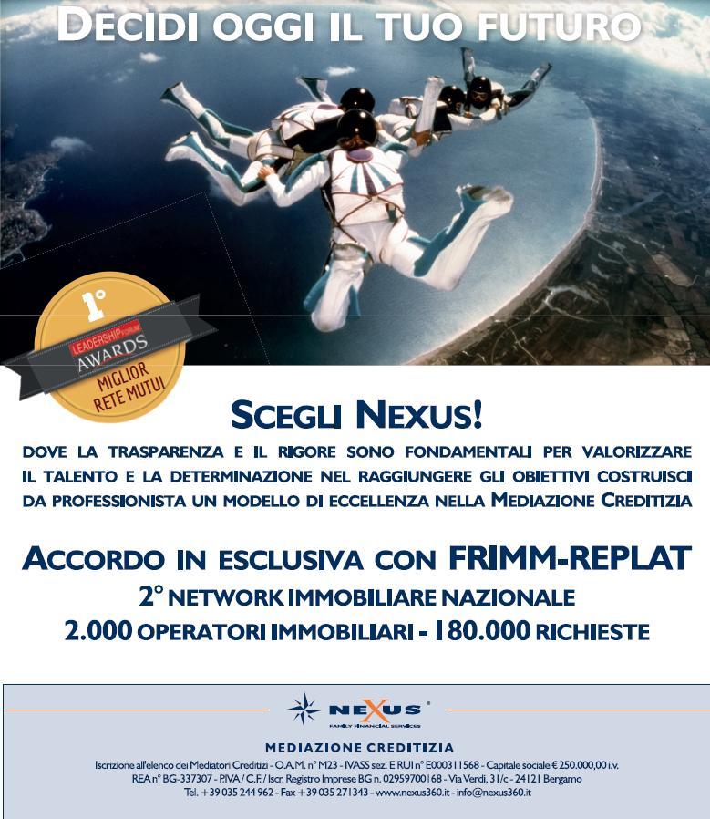 Accordo Frimm/MLS REplat/Nexus