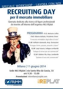 Recruiting manager e agenti immobiliari Milano