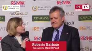Roberto Barbato su RETV dai Real Estate Awards 2015