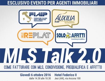 MLS Talk 2.0 Jesi 6 ottobre 2016