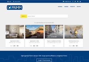"""Online il nuovo sito di Frimm: trovare casa è più facile con la nuova ricerca e il servizio """"Around Me"""""""
