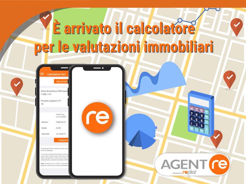 App Agent RE: arriva il Calcolatore per le valutazioni immobiliari