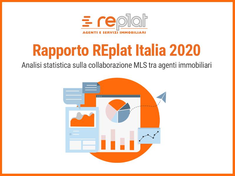 Rapporto REplat 2020: condivisi in MLS 46.449 immobili e 319.506 acquirenti in 12 mesi