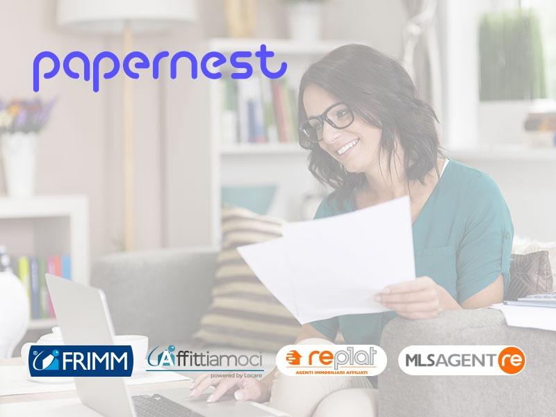 Partnership FRIMM e papernest: un nuovo servizio di valore